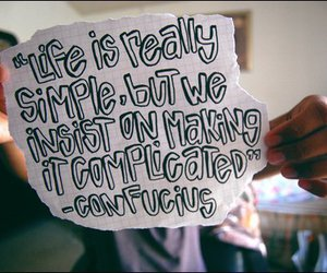 quote, life, and simple image