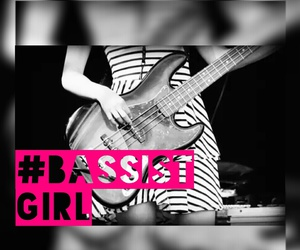 bassist, dress, and fender image