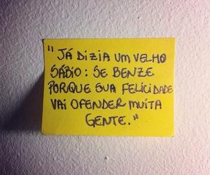 happiness, quote, and yellow image