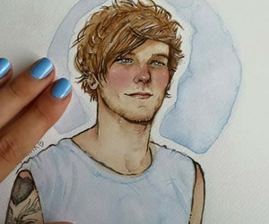 louis tomlinson, art, and fanart image