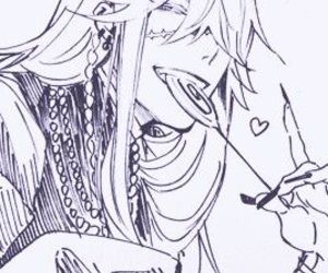 anime, kuroshitsuji, and undertaker image