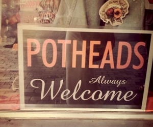 pothead, weed, and welcome image