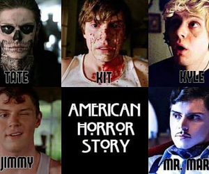ahs, kit, and evan peters image