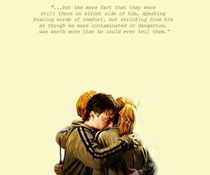 harry potter, ron, and hermione image