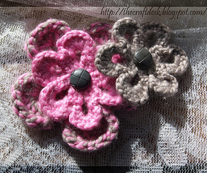 craft, the craft desk, and crochet image