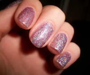 nails, photography, and sparkles image