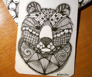 drawing and zentangle image