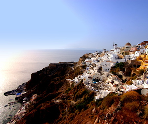 europe, Greece, and landscape image
