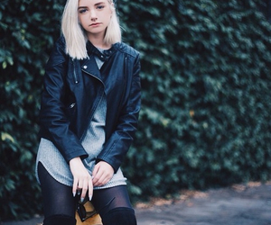 fashion, hair, and white hair image