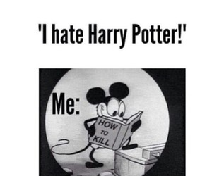harry potter, book, and kill image