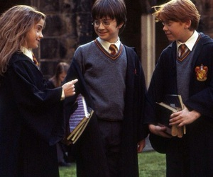1, potter, and ron image