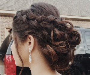 braid, blondes, and brunettes image