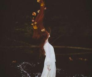 autumn, fairy, and fashion image