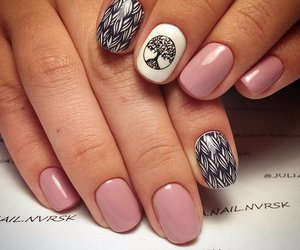 fashion, girly, and nails image