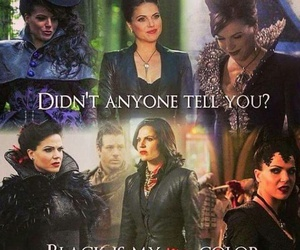 once upon a time, regina mills, and evil queen image
