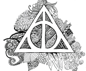 drawing and harry potter image