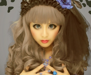 beautiful, japanese girl, and lolita fashion image