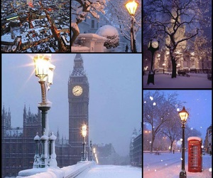 holiday, winter, and london image