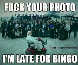 funny, bingo, and photo image