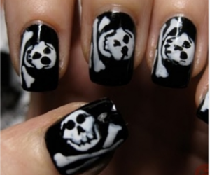 86 Images About Emo Nails Art On We Heart It