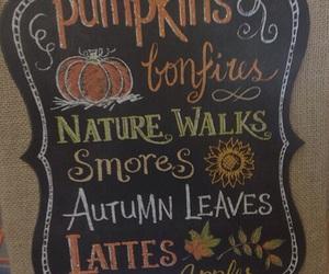 fall, autumn, and pumpkins image