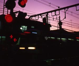 lights, photography, and subway image