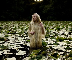 kirsty mitchell, fantasy, and lily pads image