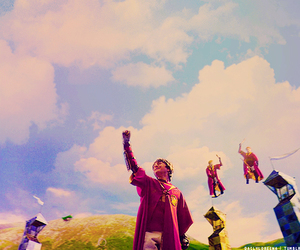 harry potter, quidditch, and magic image