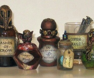 beautiful, magic, and magic potions image