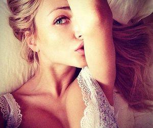 babe, blonde, and lady image