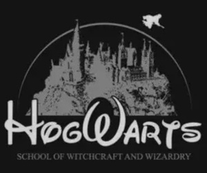 harry potter, hogwarts, and witch image