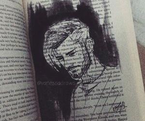 zayn malik, book, and drawing image