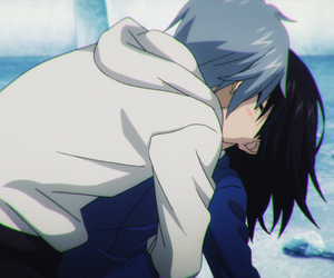 anime kiss, himeragi yukina, and akatsuki kojou image