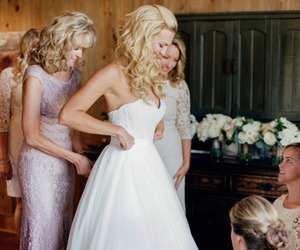 best friends, bridesmaid, and fashion image