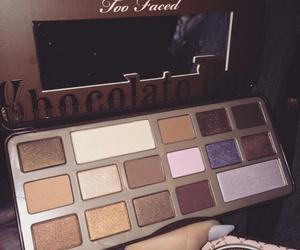 makeup, palette, and makeup palette image