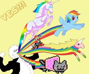 awesome, my little pony, and rainbowdash image