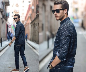 boy, fashion street, and glamour image