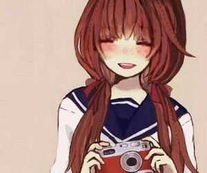 anime, camera, and kawaii image
