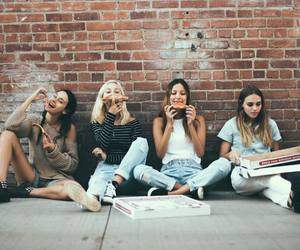 girls, happy, and healthy image