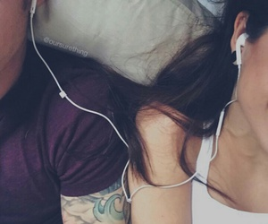 bae, music, and couple image