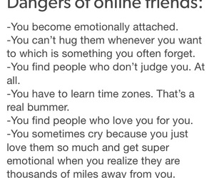 true, yes, and internet friends image