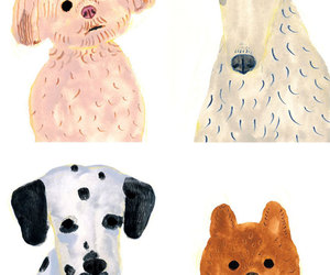 dog, illustrate, and itsuko suzuki image