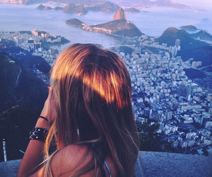 girl, rio, and view image