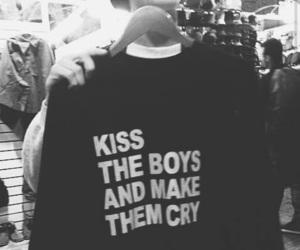 boy, kiss, and grunge image