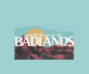 background, badlands, and blue image
