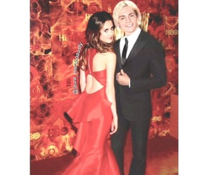 disney, red, and ross lynch image