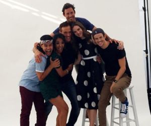comic con, the flash, and danielle panabaker image