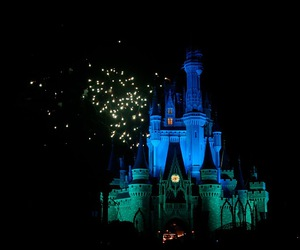 castle, disney world, and show image