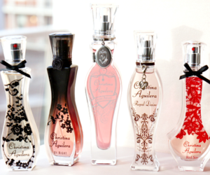 christina aguilera and perfume image