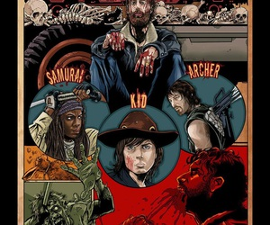 archer, kid, and twd image